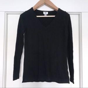 Old Navy | Black V-Neck Sweater